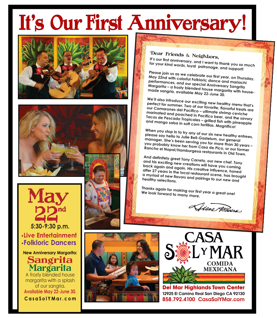 It's Our First Anniversary!